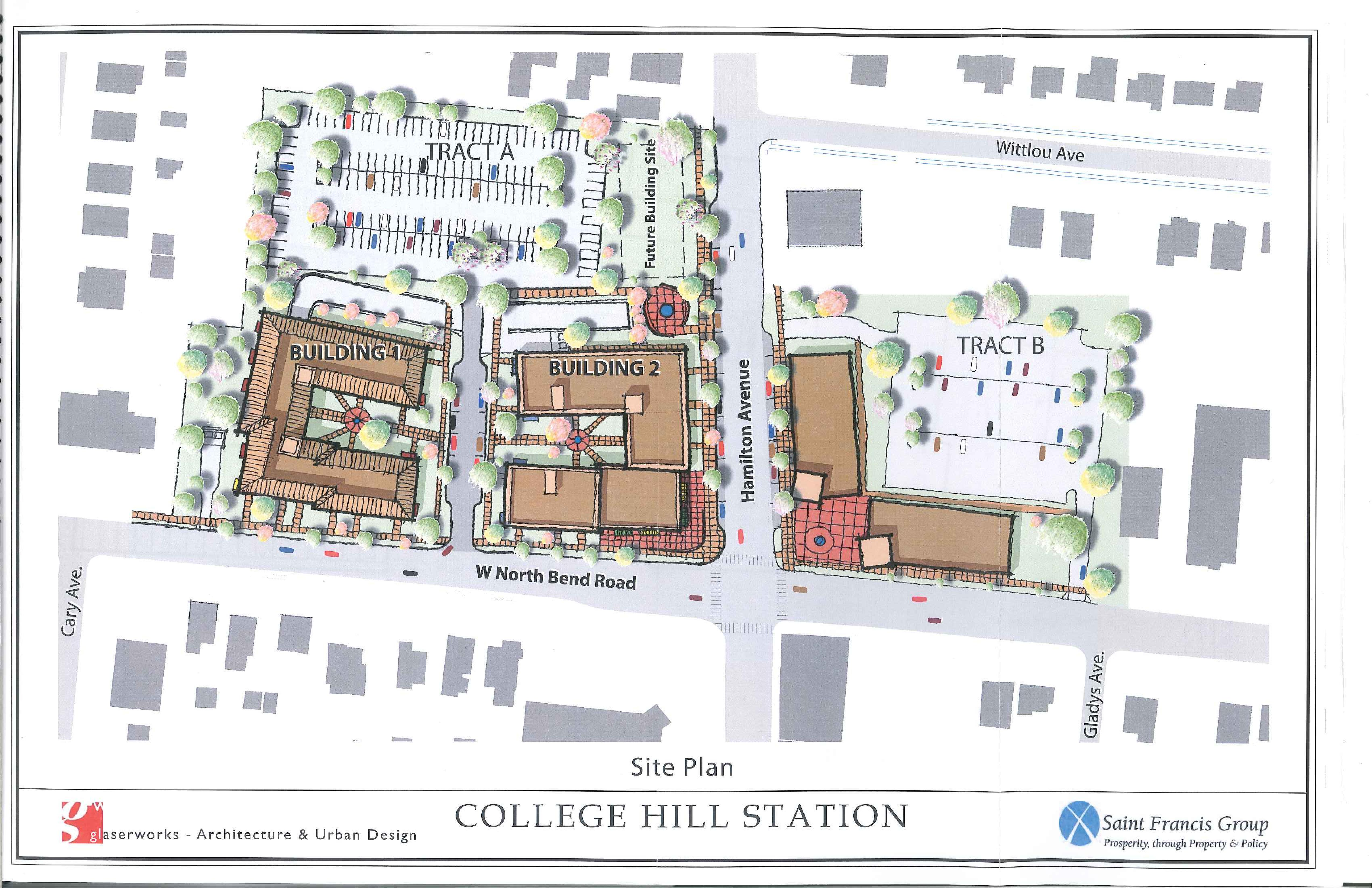 College Hill Station Design