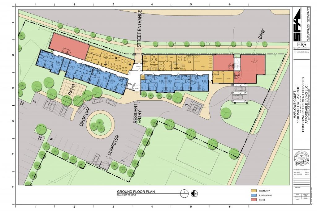 Marlowe Court Site Plan