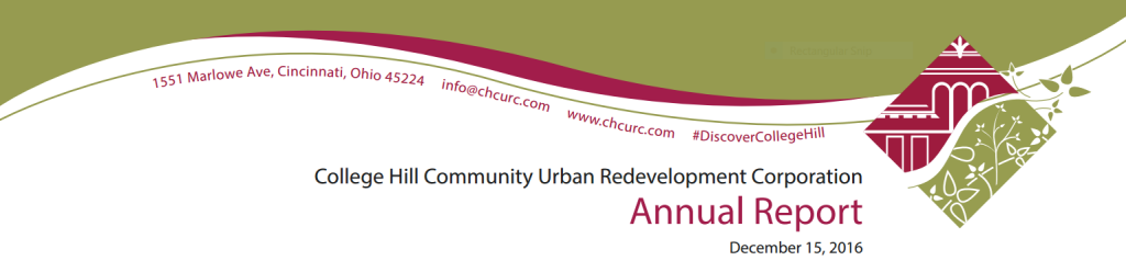 CHCURC Annual Report